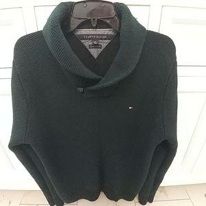 Tommy Hilfiger Shawl Collar Sweater